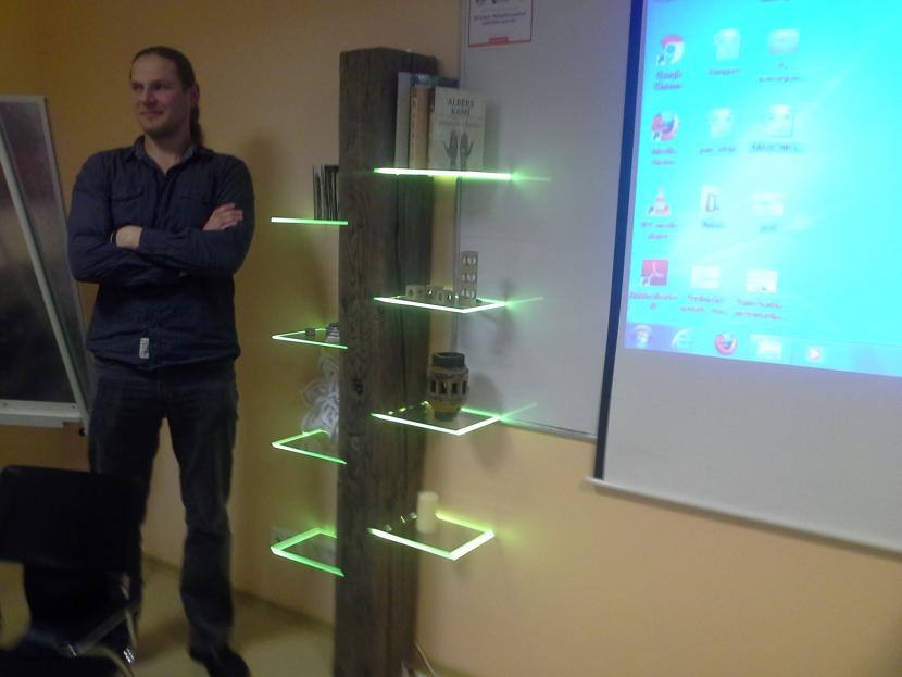 """Projekta """"INNOSTARTUP"""" dalībnieki prezentē biznesa idejas"""