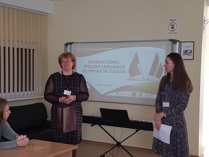 Angļu valodas olimpiāde Jelgavas un Šauļu pilsētu skolēniem
