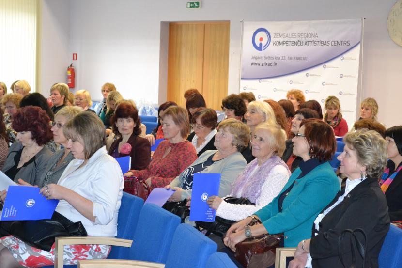 130 matemātikas skolotāji no visas Latvijas viesojas ZRKAC