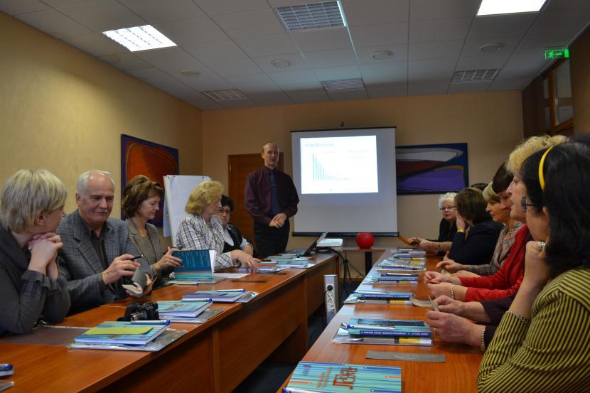 Jelgavas tipogrāfijā viesojas Jelgavas pilsētas skolu direktori