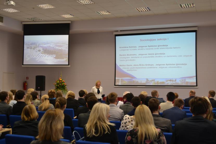19. Jelgavas pilsētas skolēnu zinātniski pētniecisko darbu konference