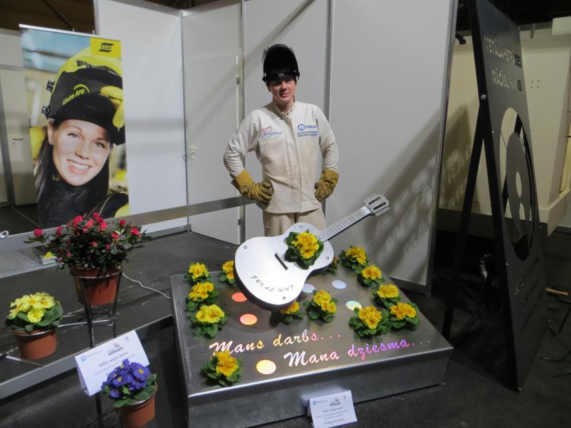 """ZRKAC Metālapstrādes mācību parka audzēknis uzvar konkursā """"Jaunais profesionālis 2013"""""""