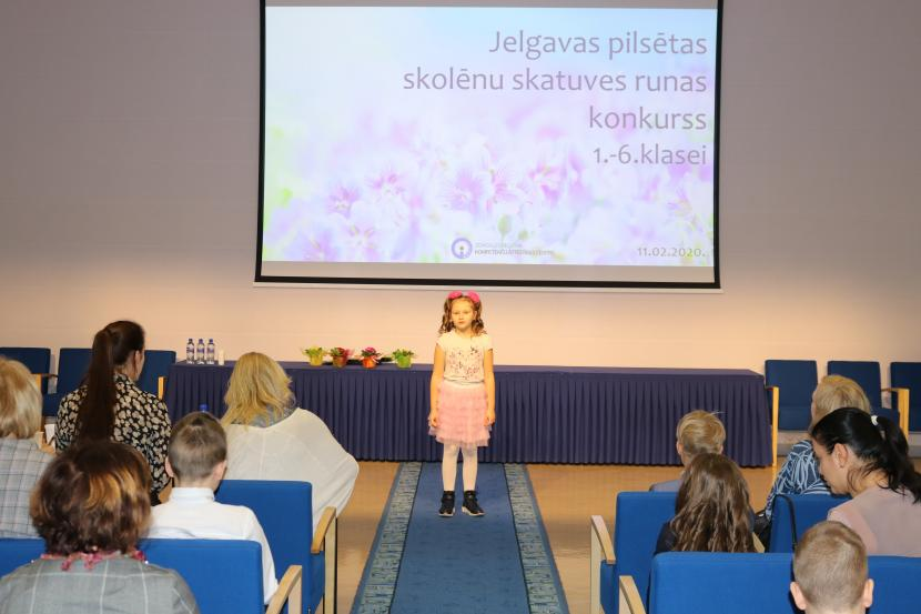 Skolēnu skatuves runas konkurss 1. – 6. klašu skolēniem
