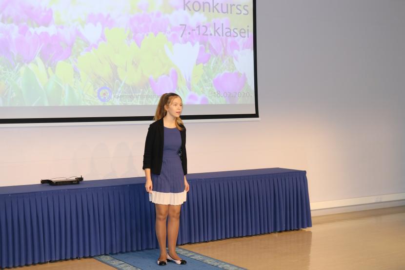 Skatuves runas konkurss 7. – 12. klašu skolēniem