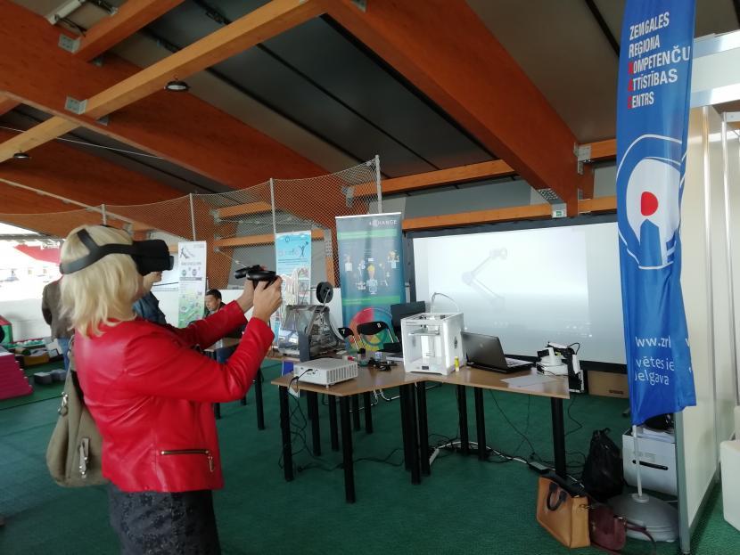 """Projekts """"4Change"""" tehnoloģiju un inovāciju festivālā """"Mehatrons"""" Jelgavā"""