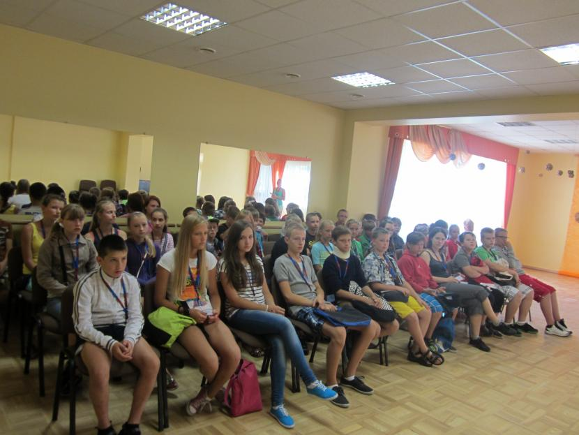 """Junioru universitātes nometene """"Vasaras sesija 2013"""""""
