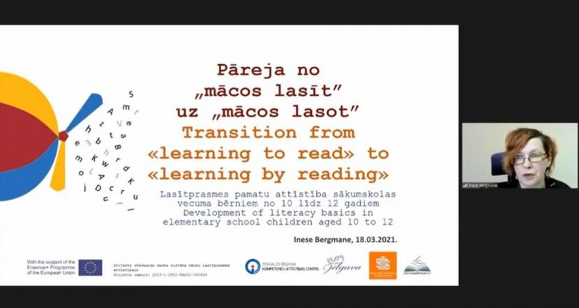 """Starptautiska konference """"Lasītprasmes pilnveides ceļā"""""""